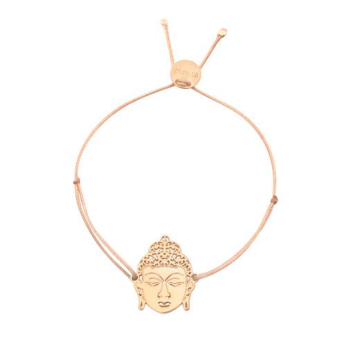 Armband Buddha vergoldet<br />