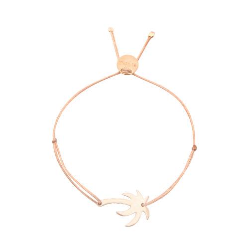 Armband Palme rosé vergoldet<br />