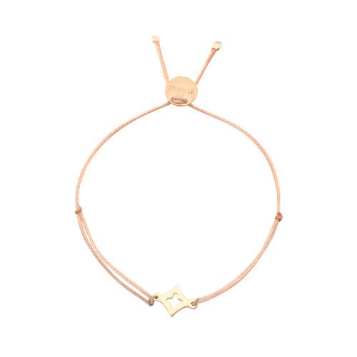 Armband Mini mit Sternchen vergoldet<br />