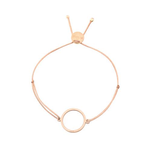 """Armband Ring fein mit Gravur """"Love"""" rosé vergoldet"""