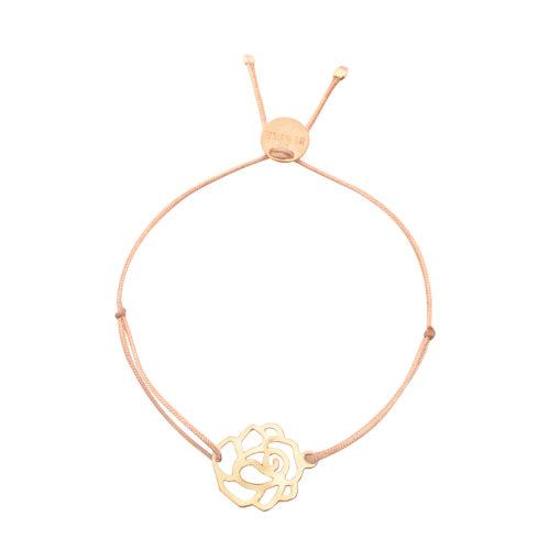 Armband Rose vergoldet<br />