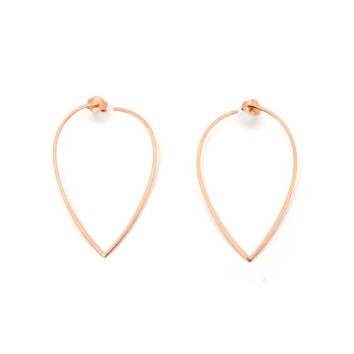 Earrings Drop of Gold