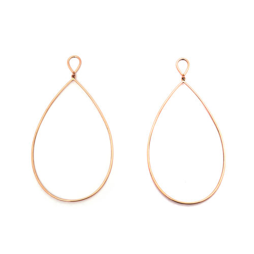 Earrings Loop of Gold