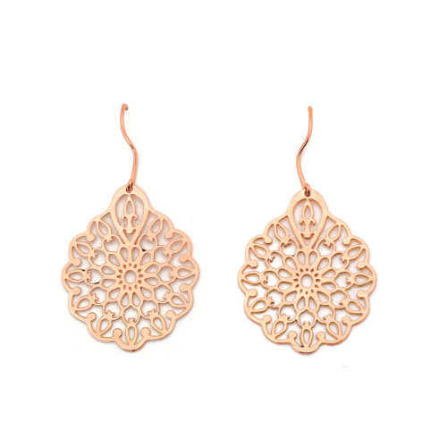 Earrings Flower of Gold