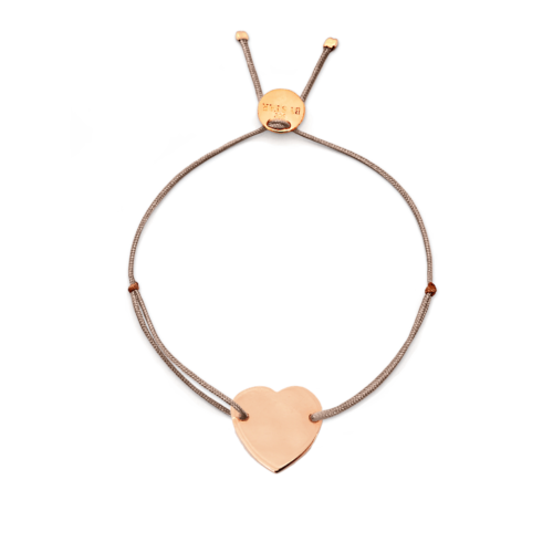 Armband Herz vergoldet<br />