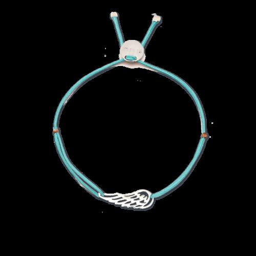 Armband Engelsflügel Silber<br />