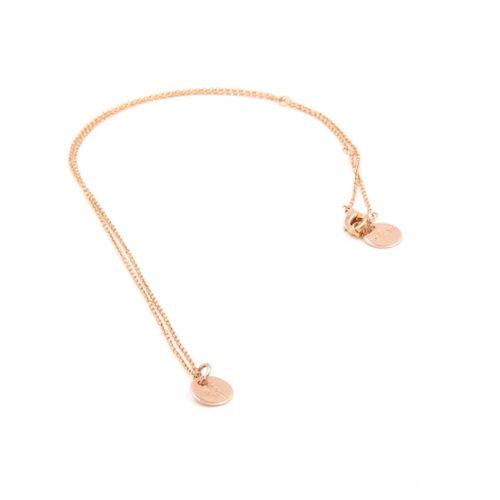 Halskette Plättchen ø 0,8 cm