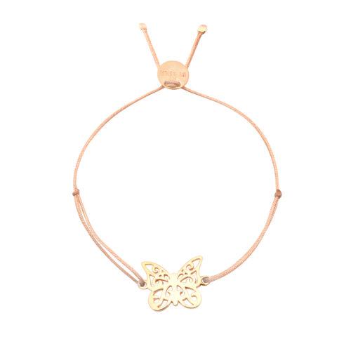 Armband Schmetterling vergoldet