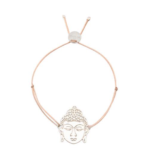 Armband Buddha Silber<br />